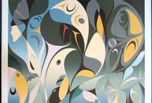 West Coast Native prints and flat art / Prints and original paintings by West Coast Native artists.