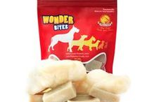 Milkotein™ Dog Treat - Wonder Bites™ / Milkotein™ Wonder Bites™ has everything that you want from the best dog chew treat - Loaded with Protein, Low Fat, Low Calorie, No Preservatives, No Artificial Colors, No Artificial Flavors, No Binding Agents, Soy Free, Gluten Free, Grain Free, All Natural, Long Lasting. Unlike other dog chews, Milkotein™ is a lot better dog chew. 2-in-1 Wonder Bites Can be given as hard chews or soft, crunchy and cheesy microwaved puffs - visit our detail page to see more details.