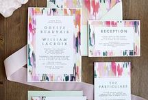 | pretty paper | / wedding invitations, save the dates & paper details