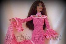 Fashion crochet / Abiti Barbie a crochet