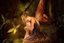 Fairies and Fantasy / Fairies, mermaids, elves and other fantasy creatures