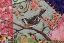 Crazy quilt / Gypsy quilt / Gorgeous quilts with ribbon embroidery & embellisment