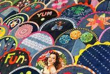 Happy as a Clam / Jeans Clamshell Quilt by Blue Mountain Daisy - one of my dream quilts