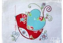 Jenny of ELEFANTZ / TEDDLYWINKS/ Leanne's House style quilts / embroidered quilts