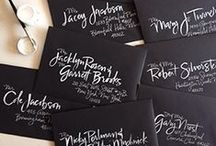 | by hand | / calligraphy & hand lettering