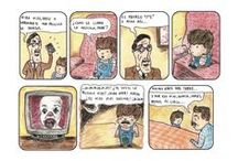 mis historietas / Una serie de tiras dibujadas por mi
