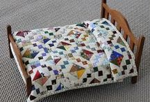 Doll quilts & bedding, mini quilts