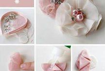 Květy - handmade flowers