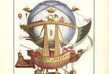 The Cabinet of Curiosities / Intriguing thingamajigs from the world of antique illustrations