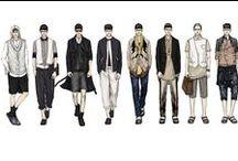 Men's Fashion Drawing