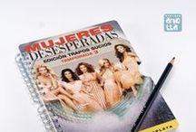 Libretas hechas con DVD / Libretas hechas a mano reciclando viejas carátulas de películas y series en DVD.