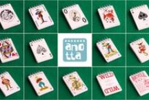 Libretas hechas con cartas y estampas / Libretas hechas a mano reciclando viejas cartas y estampas.