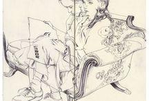Sketch / Illustration - sketches & sketchbooks