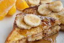 Petit déjeuner / Breakfast recipies & ideas for the weekends! :)