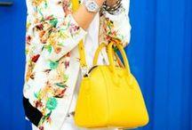 Jak słońce! / Radosna, słoneczna i bardzo wiosenna stylizacja z bloglovin.com zainspirowała nas do prezentacji naszych najpiękniejszych żółtych torebek ... Którą wybieracie? Więcej na www.torebki.pl