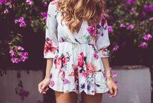 Sumer Mood ♥ / Inspirações para looks de verão!