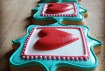 Cookies / Cute decorated cookies (: / by Melissa Franco