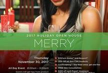 Holiday Open House 2015 / Celebrating the holidays with discounts and free giveaways!