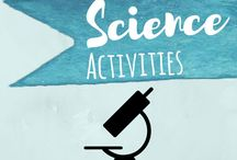 Science Activities / Fun, hands on, science Activities for toddlers, preschoolers, and elementary to learn about the nature and the earth, seasons, senses, and MUCH more!