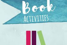 Book Activities for Kids / Literature activities to go along with children's books for toddlers and preschoolers for story extension and further learning and play, arts and crafts, STEAM, and more!