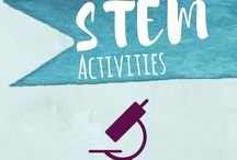 STEM Activities for Kids / STEM (STEAM), science, technology, engineering, and math activities and projects for kids. This board mostly focusing on toddler, preschool, and kindergarten, but many ideas are for elementary or can be adapted for older kids.