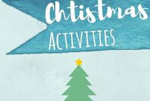 Christmas Crafts and Activities / Christmas activities for toddlers and preschoolers