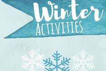 Winter / winter themed activities for toddlers and preschoolers