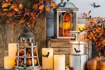Harvest Decor / Fall is such a pretty time of year...