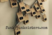Christmas... / by Funky Junk Sisters