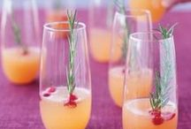 Drinks / Impress all of your 21+ guests with these easy drink recipes.