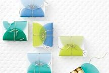 Gift Wrap and Packaging / Show off the perfect present in equally perfect giftwrap -- Martha Stewart has a few tips and tricks, from curling the perfect ribbon to creative tag inspiration.