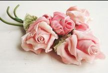~ Millinery~ / Just send me all your old floppy corsages and hats with flowers on them! / by Love Embellished