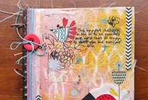 Handmade Books and Journals / A collection of wonderful journals by creative people. / by Sally