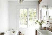 Bathrooms / Transform your bathroom using Martha Stewart's tip for decorating, organizing, and storing.  / by Martha Stewart Living