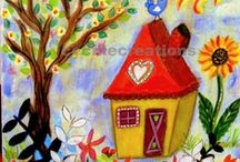 Home is where my heart is!!! / Houses fascinate me... / by Sally