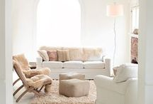 Living Room Decor / Color palettes, furniture inspiration, and beautiful spaces -- Martha Stewart's curated living room decor is sure to inspire. / by Martha Stewart Living