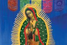 Guadalupe / Images, paintings, murals, mosaics, statues of Our Lady of Guadalupe (Virgen de Guadalupe)