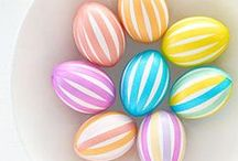 Easter Egg Ideas / Upgrade your Easter egg decorating game with our twists on the traditional craft.