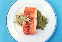 Savory Salmon Recipes / Switch up your salmon entrees with a few of our savory salmon recipes. Share your own creations using #marthafood. / by Martha Stewart Living