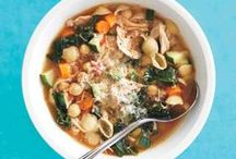 Soup, Stew, & Chili Recipes / Cold weather calls for hearty soup recipes. These soup, stew, and chili recipes are sure to keep to chill away. Find more home-cooked meal inspiration at marthastewart.com/everydayfood