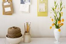 Organizing Your Office / Find a place for everything in your workspace with these office organization tips from our editors. / by Martha Stewart Living