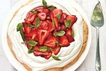 Strawberry Recipes / Finally, a use for all of those hand-picked strawberries! Try summer's sweetest fruits in one of these favorite strawberry recipes. Share your own creations using #marthafood. / by Martha Stewart Living