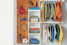 Organizing Your Closet / From organizing your scarf collection to small space organization, these closet organization tips will make closet storage trouble-free.