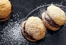 Macarons + Sandwich Cookies / Indulge your sweet tooth with these macarons and sandwich cookie recipes. Share your own creations using #marthafood.