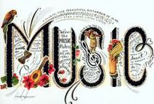 My Musical World / Music fills my heart with joy... peace... love... it is a special gift in my life!