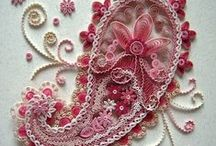 Delightfully Quilled / Quilling is a wonderful art form ~ full of possibilities!