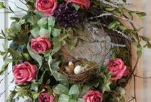 Wreaths / And other great decor to greet your family & friends!