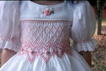 Exquisite Smocking / A lovely enhancement to clothing ~ my mom did this so lovingly for me ~ & my girls!