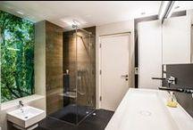 Bad - bathroom / #Bad #Fliesen #große Formate #Spachtelungen #Lux Elements #Design #Fliesenbau #Dusche bodenbündig #tiles #bathroom