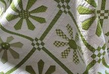 Patchwork Quilts / Patchwork quilts antique and modern with a bygone feel